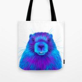 Josh the Marmot Tote Bag
