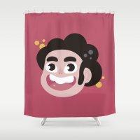 steven universe Shower Curtains featuring Steven  by HypersVE