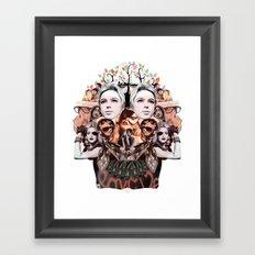 Skullage Framed Art Print