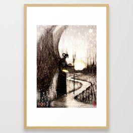 Hæling Forescýwa (Healing Shadow) Framed Art Print