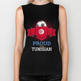 Football Tunisia Tunisians Soccer Team Sports Footballer Goalie Rugby Gift Biker Tank