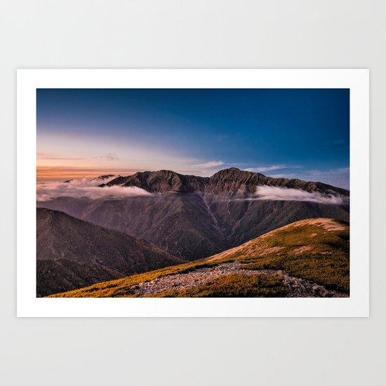 Southern Alps I Art Print