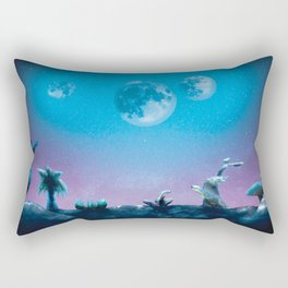 A Cold Night in Space Rectangular Pillow