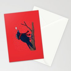 Annoyed IL Birds: The Crow Stationery Cards