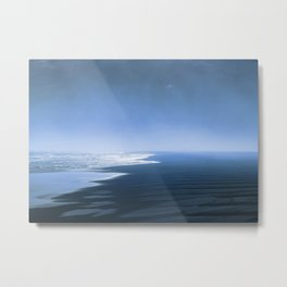 Blue ocean mood Metal Print