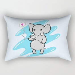 Smellephant Rectangular Pillow