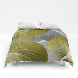 Beautiful Large Leaves #decor #society6 #buyart Comforters