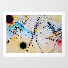 Kandinsky Reimagined Art Print