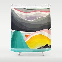 Coast Rain Shower Curtain