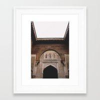 morocco Framed Art Prints featuring Morocco by Alden Terry