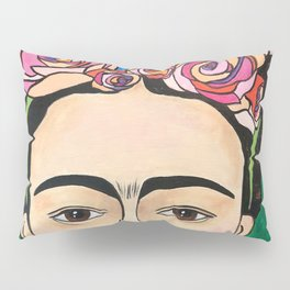 Frida Khalo Portrait Pillow Sham