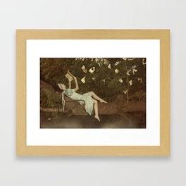Lectora Framed Art Print