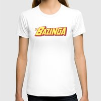 bazinga T-shirts featuring The Bazinga by thom2maro