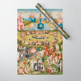 THE GARDEN OF EARTHLY DELIGHT - HEIRONYMUS BOSCH Wrapping Paper