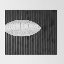 Geometric Glow Throw Blanket