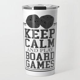 Pen & Paper Board Games Game Night RPG Gift Travel Mug