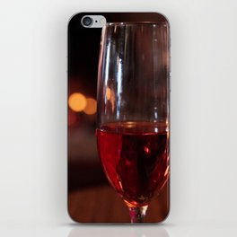 Wine Glass iPhone Skin