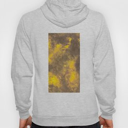 Yellow Painted on Concrete Hoody