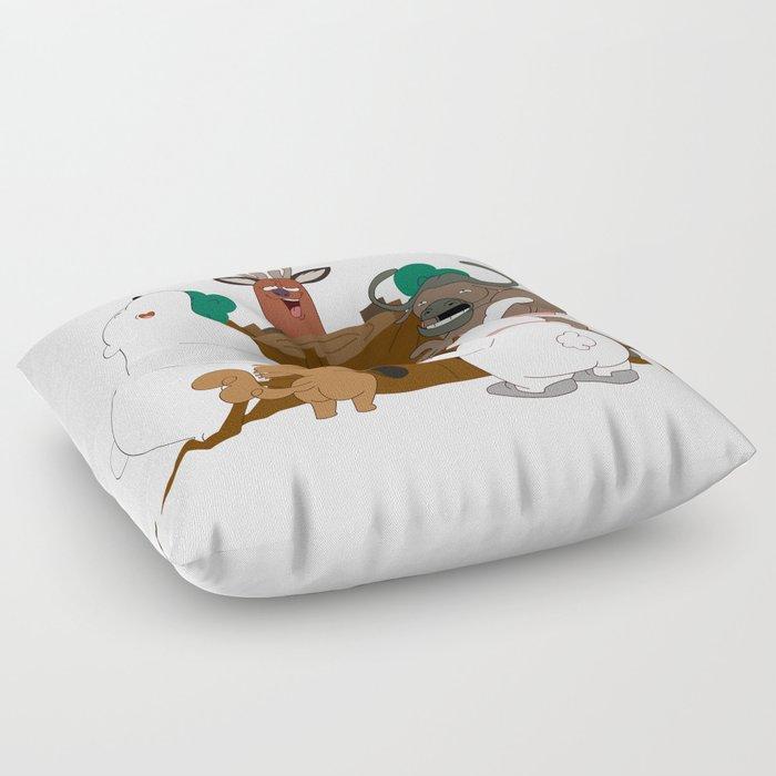 The Magic Tree (Peepoodo) Floor Pillow