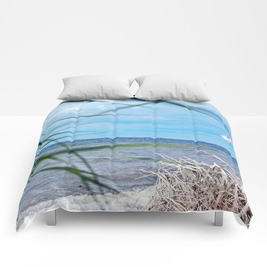 Secluded Beach Comforters
