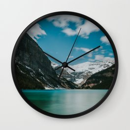 Lake Louise, Banff Wall Clock