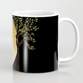 Ladies of Electric Light : Gaia and moon Coffee Mug