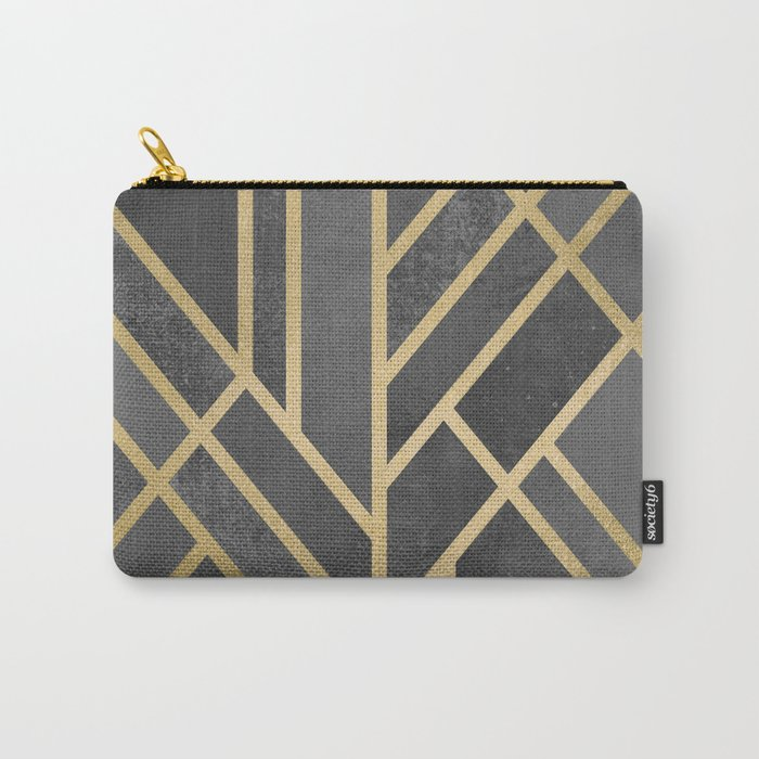 Art Deco Geometry 1 Carry-All Pouch