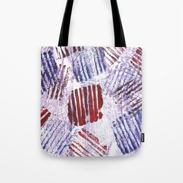 Abstract striped painting Tote Bag