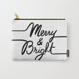 Merry & Bright Carry-All Pouch