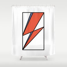 Bowie Tribute Shower Curtain