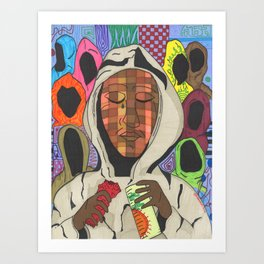 Hoodies Kunstdrucke