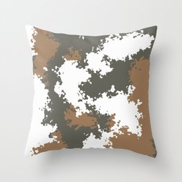 Camouflage mountain 2 Throw Pillow