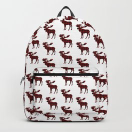 Buffalo Check Moose Backpack