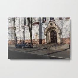 Vilnius Metal Print