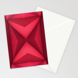 Origami - Fuchsia Stationery Cards