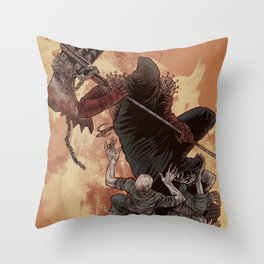 The Executioner Throw Pillow