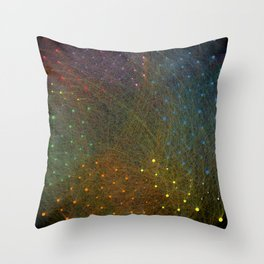 Twittersphere Throw Pillow