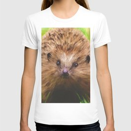 Hedgehog in the Grass T-shirt