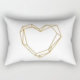 Graphic Heart Rectangular Pillow