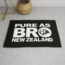 Pure as BRO  New Zealand Kiwi Rug