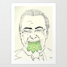 Fora Temer! Art Print