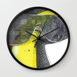 Banana Sunglass Wall Clock