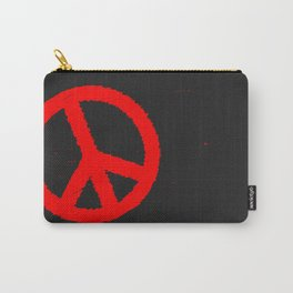 Ban the Bomb Blackboard Carry-All Pouch