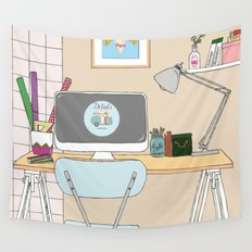 workplace Wall Tapestry