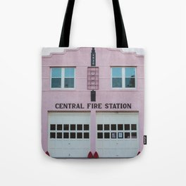 Central Fire Station - Marfa Tote Bag