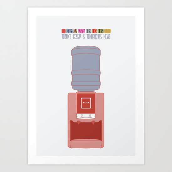 Essence Of Gawker Art Print