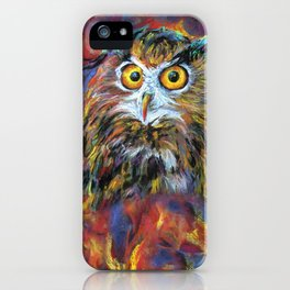 That gril is in fair! iPhone Case