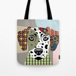 Dalmatian Dog Tote Bag
