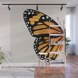Monarch Butterfly | Left Wing Wall Mural