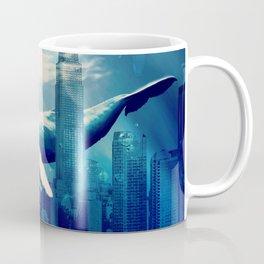 Blue Whale in NYC Coffee Mug